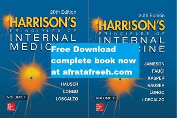 Free download Harrison's Principles of Internal Medicine 20th ed full book pdf free download