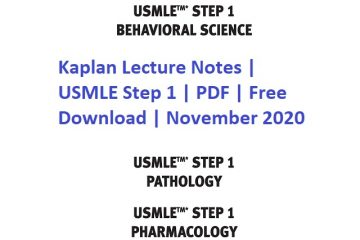 Free download USMLE Step 1 Lecture Notes PDF Free Download 2019
