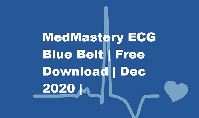 MedMastery ECG Bluebook free download 2020
