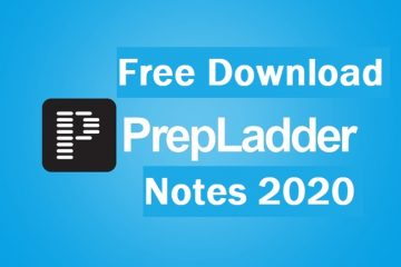 Free Download Prepladder Notes 2020